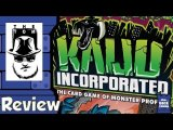Kaiju Incorporated Review - with Tom Vasel