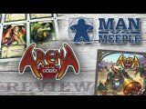 Arena: For the Gods! Review by Man Vs Meeple
