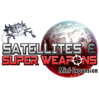 Tiny Epic Galaxies: Satellites & Super Weapons