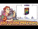 Edo's Virus: An Infectious Card Game Review (KS Preview)
