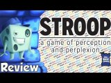 Stroop Review - with Tom Vasel