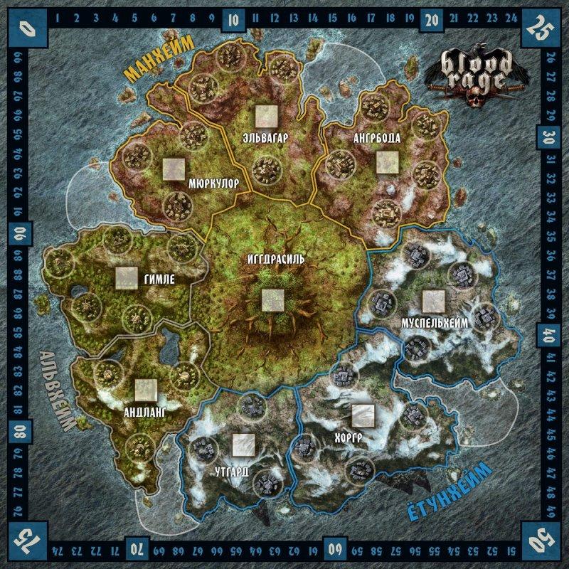 Карта. Красивая, но простая
