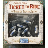 Ticket to Ride Promo Deluxe Train Set Milk Tankers
