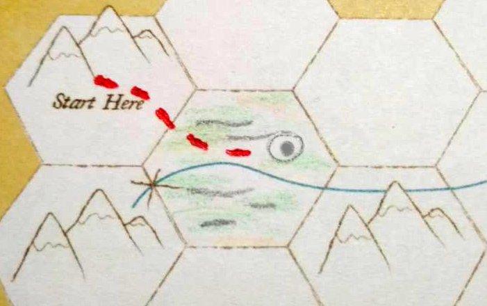 1572 - игра №2, второй день пути