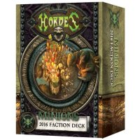 Hordes: Minions - 2016 Faction Deck (MK III)