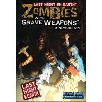 Last Night on Earth: Zombies with Grave Weapons Miniature Set