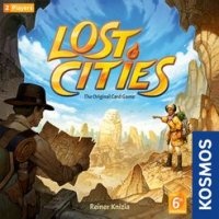 Lost Cities: The Card Game (With 6th Expedition)