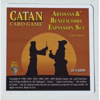 The Settlers of Catan Card Game: Artisans & Benefactors