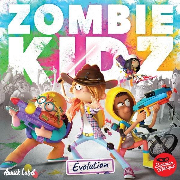 Zombie Kidz Évolution, Le Scorpion Masqué, 2018 — front cover (image provided by the publisher)