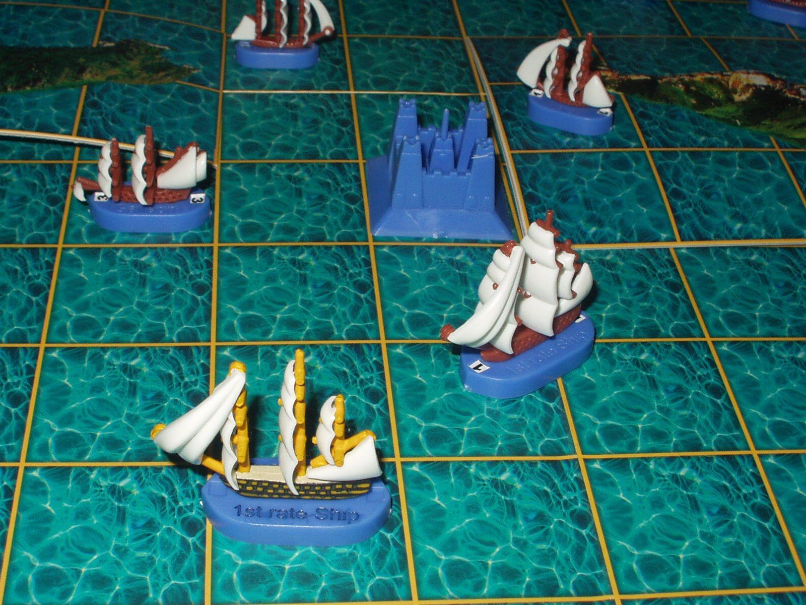 кораблики в бою...