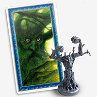 War of the Ring: Lords of Middle Earth Promotional Treebeard miniature and card
