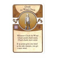 Agricola: The Legen*dairy Forest Deck - Chuck the Wood Chuck