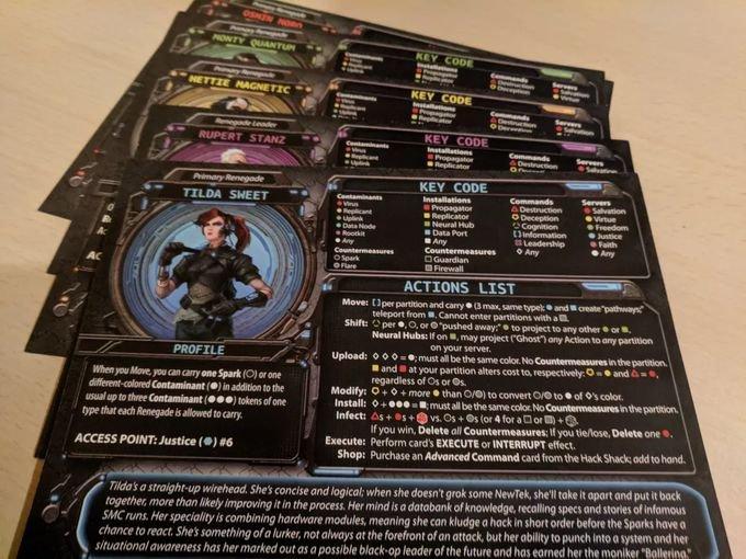 Renegade profile sheets