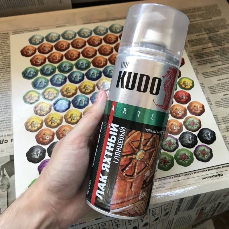 Лак яхтный алкидный марки KUDO