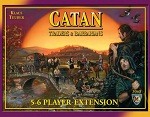 Catan: Traders & Barbarians 5-6 Players Extension
