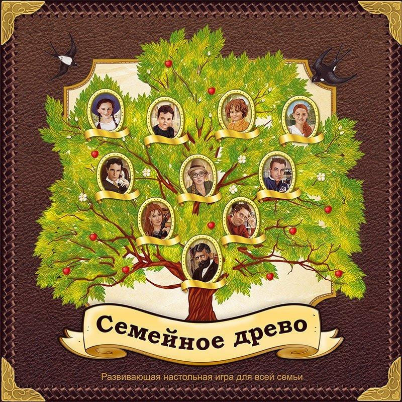 Семейное древо с фото