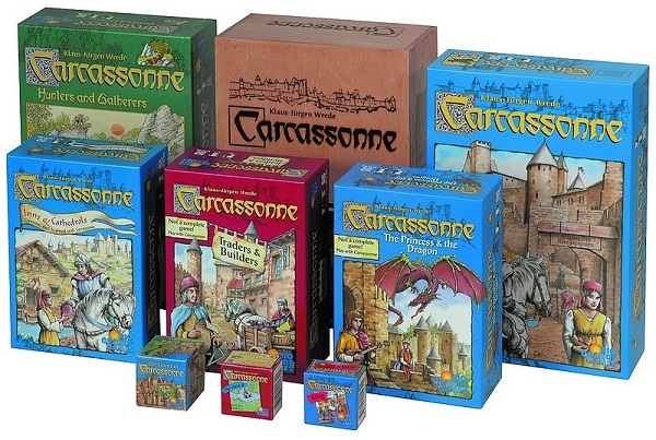 Все игры серии «Каркассон»