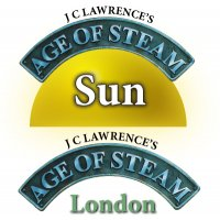 Age of Steam Expansion: Sun/London