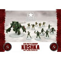 Dust Tactics: SSU Battlegroup Koshka Starter Set