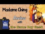 Madame Ching Review - with the Game Boy Geek