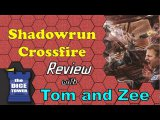 Shadowrun Crossfire Review - with Tom Vasel and Zee Garcia