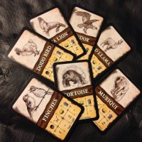 Robinson Crusoe: Adventure on the Cursed Island - Beast Cards