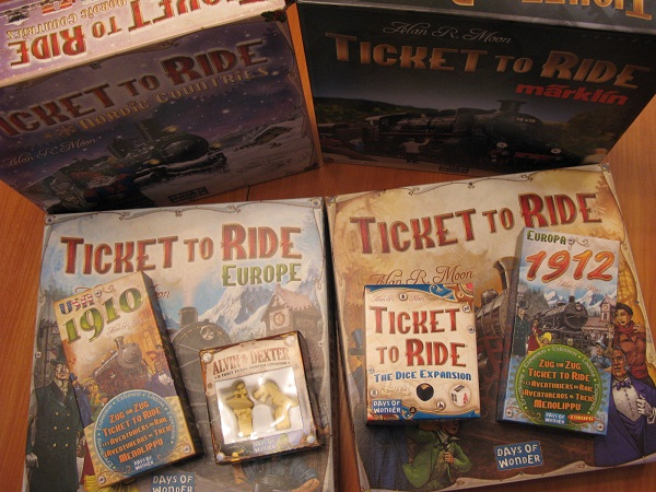 Серия игр Ticket to Ride