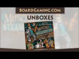 Unboxes Munchkin Steampunk Deluxe