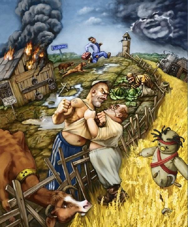 Несчастный фермер