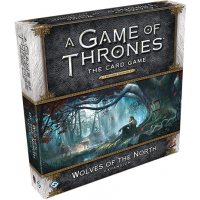 A Game of Thrones: The Card Game Second Edition — Wolves of the North