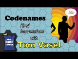 Codenames First Impressions - with Tom Vasel
