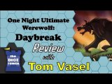 One Night Ultimate Werewolf Daybreak Review - with Tom Vasel