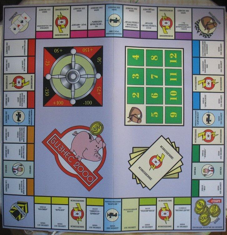правила экономической игры бизнесмен 2000
