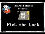 Bearded Meeple reviews Pick the Lock Subscribe