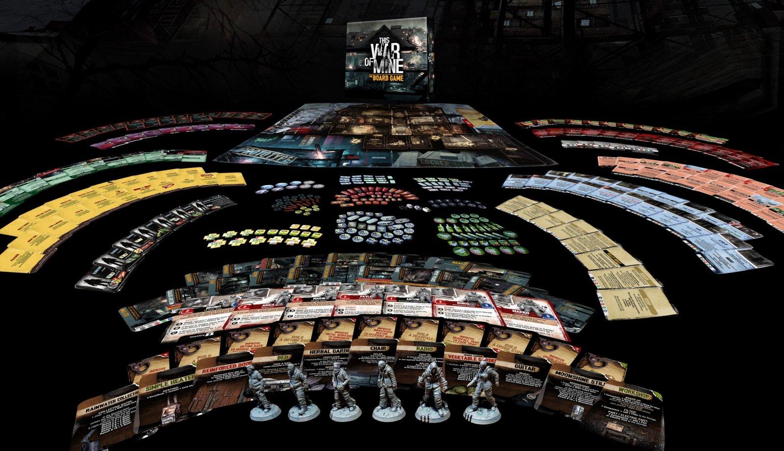 Картинки по запросу this war of mine board game