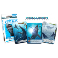 Apex Theropod Deck-Building Game: Megalodon Expansion Deck