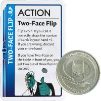 Batman Fluxx: Two-Face Flip Promo Card