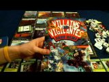 Bower's Game Corner: Villains and Vigilantes Card Game Review