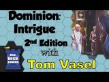 Dominion: Intrigue Second Edition Review - with Tom Vasel