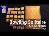 Sid Sackson's Bowling Solitaire - Counter Variant by Ones Upon a Game (How To Play)