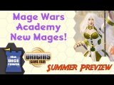 Origins Summer Preview: Mage Wars Academy - New Mages