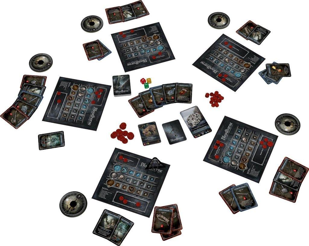 Картинки по запросу bloodborne порождение крови настольная игра