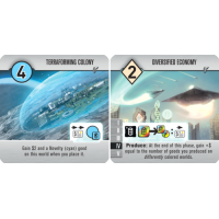 Roll for the Galaxy: Terraforming Colony/Diversified Economy Promo Tile (2016)