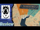Maestro Ensemble & Symphony Review - with Tom Vasel