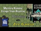 The Dice Tower reviews Mystery Rummy: Escape from Alcatraz