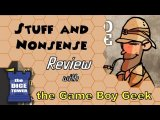 Stuff and Nonsense Review - with the Game Boy Geek