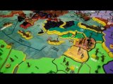 Boardgame prototype MedioEvo Universalis - 3D Map deluxe version