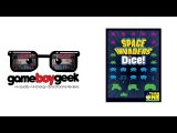 The Game Boy Geek Previews Space Invaders Dice