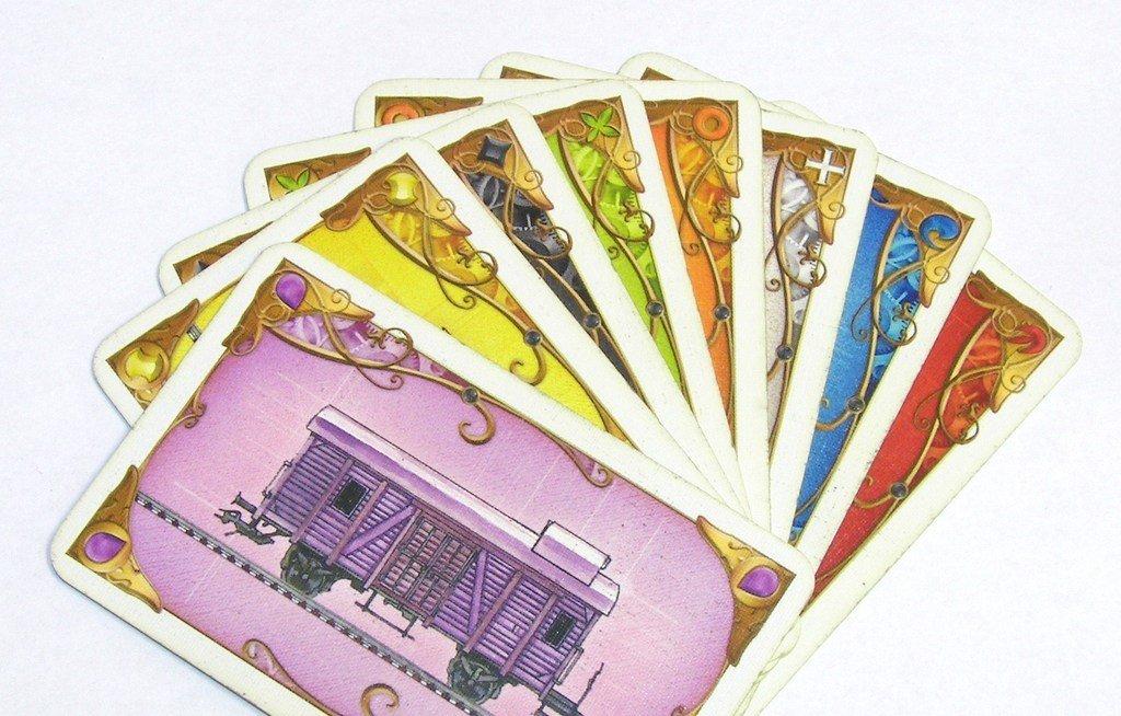 Карты поездов